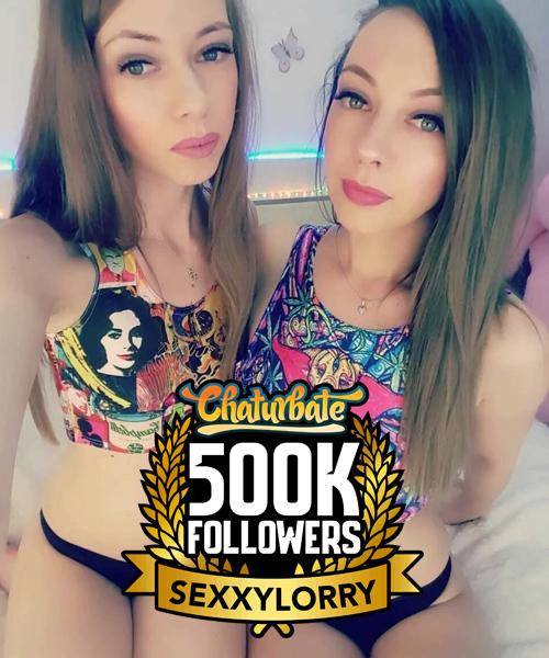 sexxylorryfromchaturbatehas500kfollowers